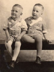 Donald Major sits alongside his brother, Fred Major.