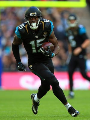 Jaguars receiver Allen Robinson had 14 touchdown receptions last year, which tied for league best.