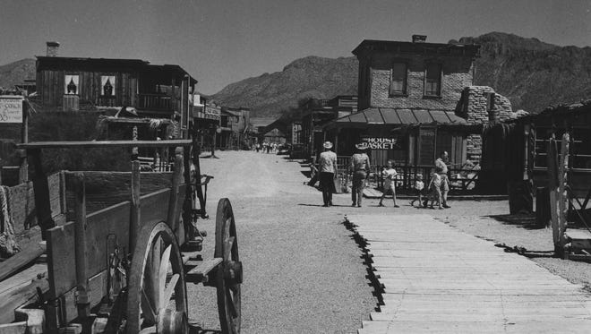 Old Tucson in 1965.