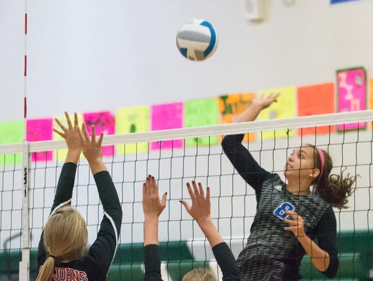 Harper Creek's Charley Andrews leads the area in kills.