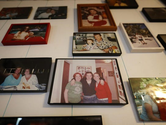 A photo of sisters Kerry, Maureen and Eileen Higgins,