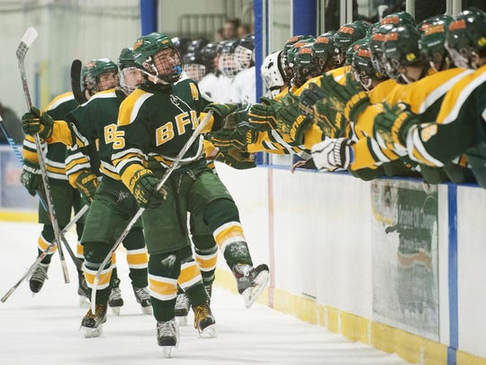BFA St. Albans vs. Essex Boys Hockey