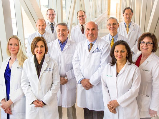 The cancer doctors at the Lefcourt Family Cancer Treatment