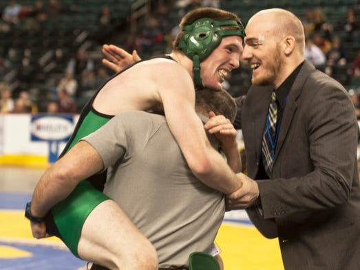 145 - Alec Donovan jumps into the arms of assistant
