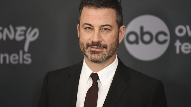 """Jimmy Kimmel apologized Tuesday for his 1990s blackface impressions of NBA player Karl Malone and other Black celebrities but, in a lengthy statement, said he was frustrated that his """"thoughtless moments"""" are being used to diminish his criticism of injustices."""