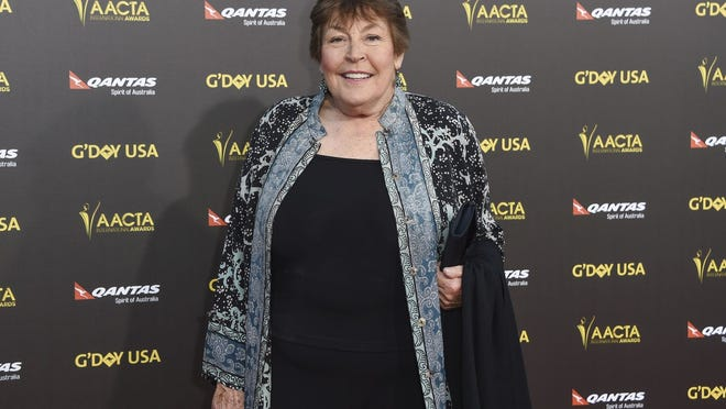 FILE - In this Jan. 31, 2015, file photo,   Australian-born singer Helen Reddy attends the 2015 G'DAY USA GALA at the Hollywood Palladium, in Los Angeles in 2015. Reddy died Tuesday at age 78.