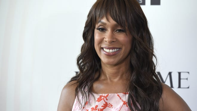 Channing Dungey arrives at the Women In Film Crystal and Lucy Awards in Beverly Hills, California, in 2018.  Dungey has been named chairman, Warner Bros. Television Group, starting her tenure at the studio early next year.
