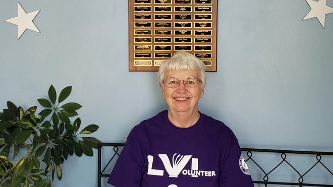 Kewanee resident Linda Bolls recently received the Governor's Volunteer Service Award for the Northwest area for her work with AmeriCorps as an Abilities Plus assisant. Bolls has worked as a community volunteer for several organizations over the years.