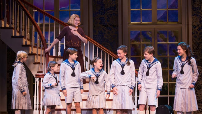 """The cast of """"The Sound of Music.""""  Photo by Matthew Murphy."""