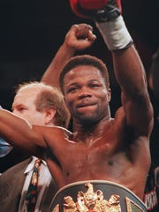 """Boxer Charles """"The Natural'' Murray: Rochester's only world champion. He'll be among guests at Rochester Boxing Hall of Fame dinner on Saturday, Sept. 30 at Diplomat."""