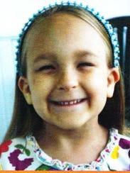 Karolyn Janowiak, 8, has Fanconi anemia.