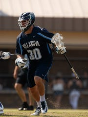 Christian Cuccinello of Mountain Lakes led Villanova
