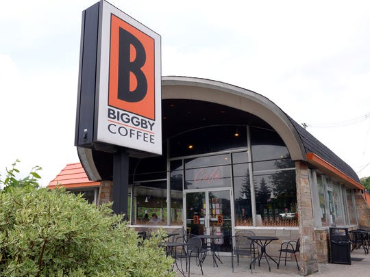 The original Biggby Coffee location on West Grand River Avenue in East Lansing. It will no longer be demolished and rebuilt as part of a proposed development project.