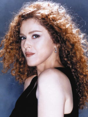 Broadway star Bernadette Peters performs at the McCallum Theatre Friday.