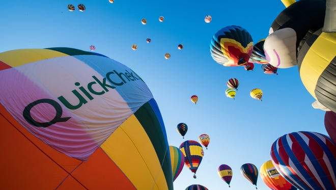 The QuickChek New Jersey Festival of Ballooning will return July 27 to 29 to Solberg Airport in Readington.