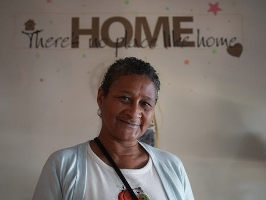 "Venise Winchester, has been living in the Ministry of Caring's new Sacred Heart Village II complex for low-income elderly residents since May and she says ""there's no place like home."""