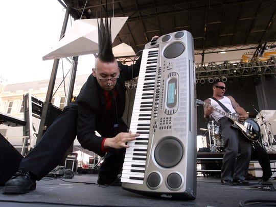 Fixed Idea kicked off the 2012 Neon Desert Music Festival
