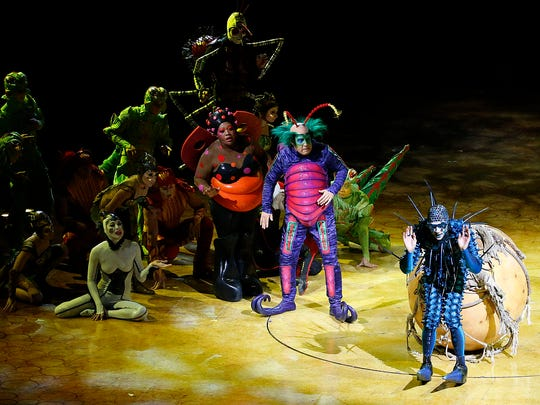 OVO Cirque Du Soleil opened Wednesday night at the Don Haskins Center for the first of seven shows.