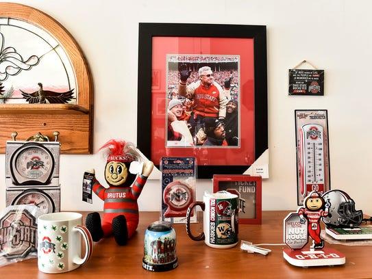 Ohio State Buckeye's mugs, shirts, hats, and anything