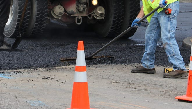 Repaving work will close lanes and ramps on Interstate 5 this week.