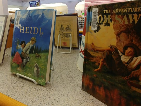 The classics are always a popular choice at the library.