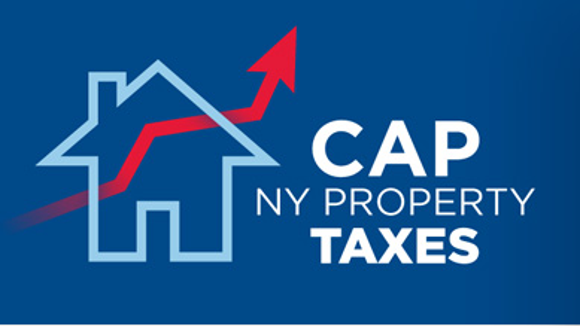 Promotion supporting New York's tax cap