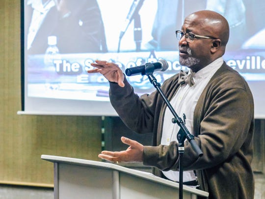 UNC Asheville political science professor Dwight Mullen