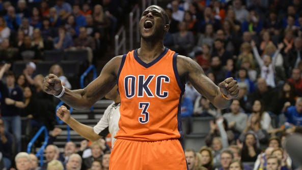 Dion Waiters reacts after a play against the Miami