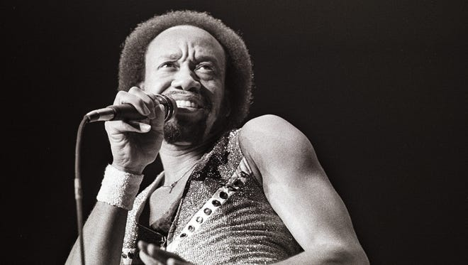 Maurice White, the founder of 'Earth Wind and Fire' performs on stage in this Feb. 28, 1982 image in the Netherlands.  The percussionist, singer and producer died Wednesday in Los Angeles at age 74.
