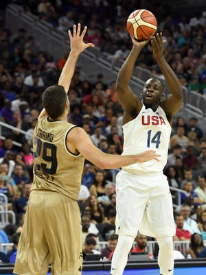 Former Michigan State player Draymond Green is headed to the 2016 Olympics as a member of USA basketball.