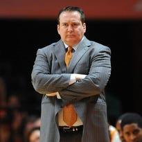 Vols coach Donnie Tyndall