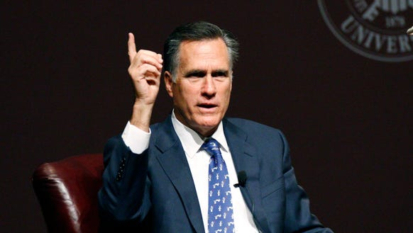 Romney took to Twitter to blast Trump after the candidate