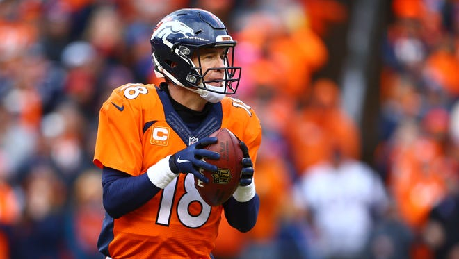 The Denver Broncos' Peyton Manning ranked 33rd of 35 quarterbacks this season with 27.5% accuracy on passes traveling 20 or more yards in the air, according to Pro Football Focus.