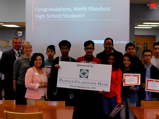 North Plainfield High School Students received certification