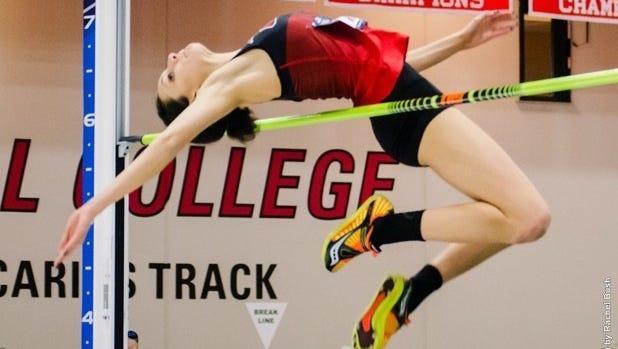 Ohio Wesleyan freshman and Ashland High School grad Cirrus Robinson won an NCAA Division III indoor high jump national championship.