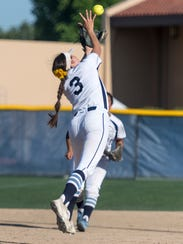 Redwood's Emma Ruth grabs a hit away from Golden West