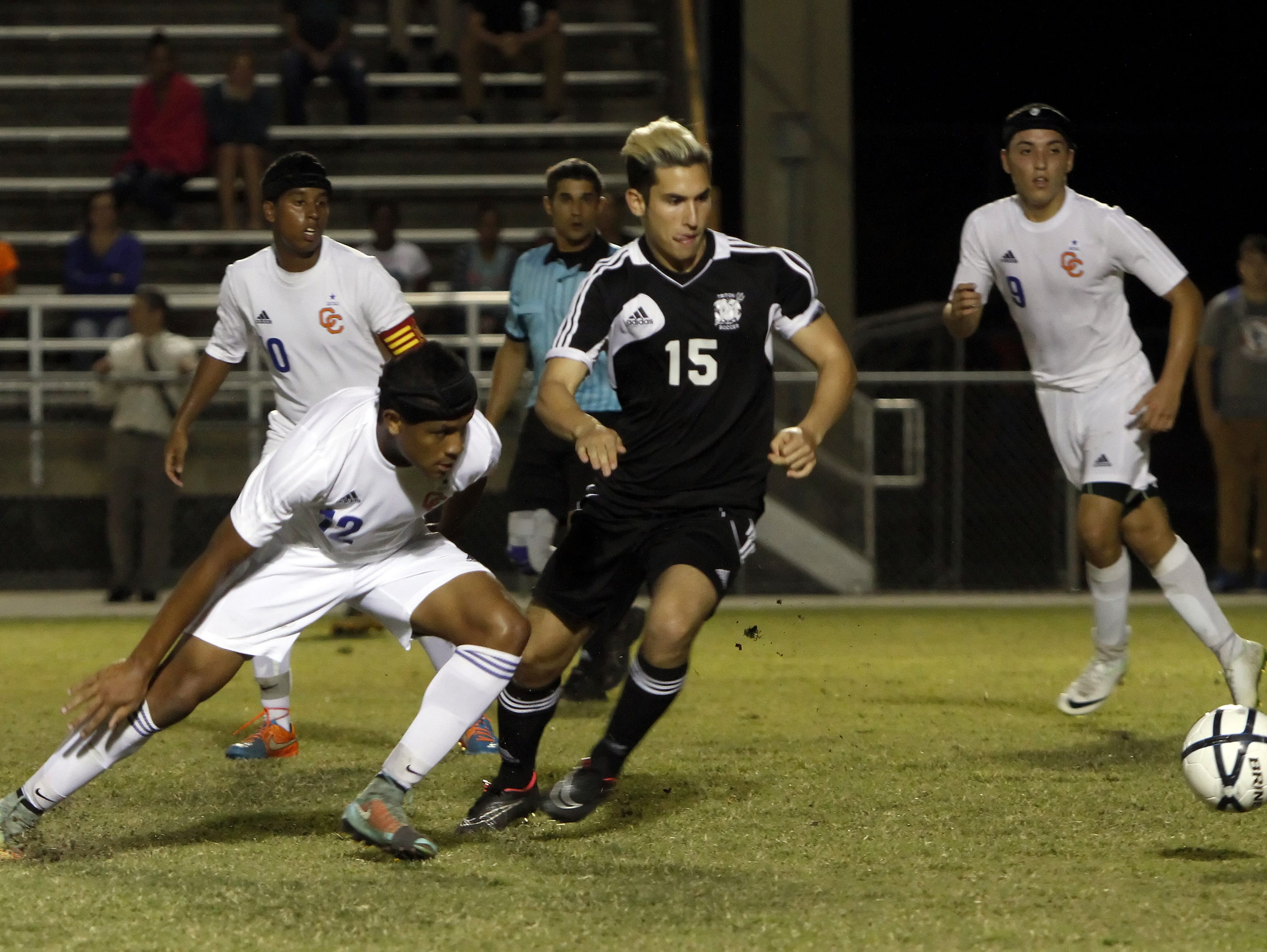Should local soccer players be forced to choose between playing club and high school soccer? One local club coach posed the dilemma for his players.