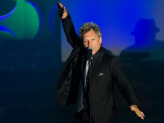 Jon Bon Jovi at Songwriters Hall of Fame gala
