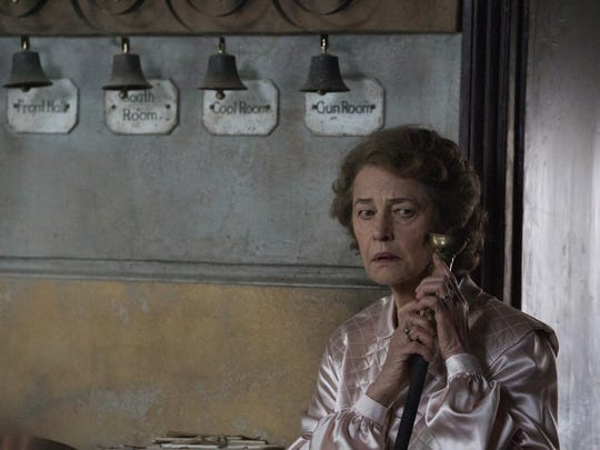 "Charlotte Rampling plays Mrs. Ayres in ""The Little Stranger."""