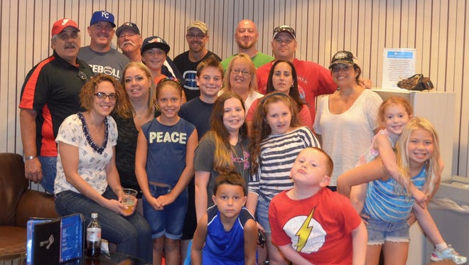 Jay Glazewski and 29 of his closest family and friends enjoyed watching the Somerset Patriots from a luxury suite at TD Bank Ballpark in Bridgewater.