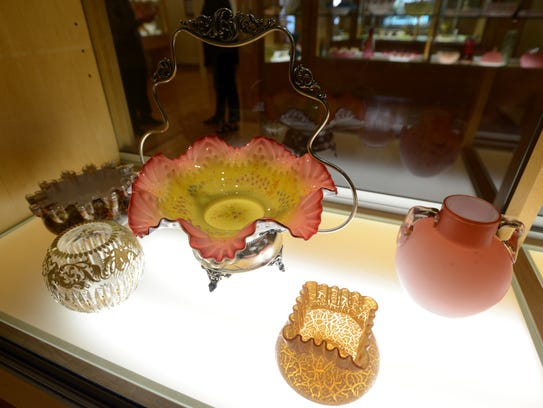 The Ohio Glass Museum is featuring a new exhibit from