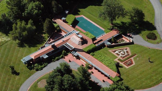 Wingspread in Racine was designed by Frank Lloyd Wright.