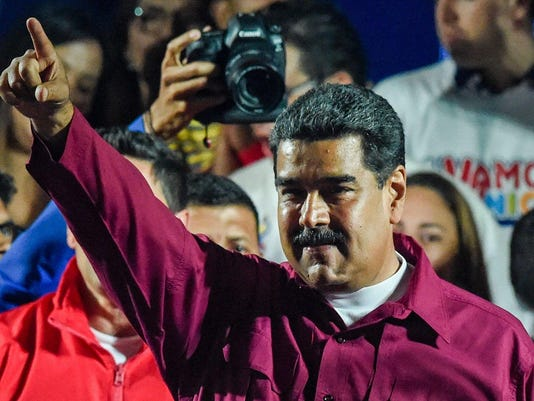 TOPSHOT-VENEZUELA-ELECTIONS-POLITICS-VOTE