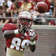 On Tuesday Florida State head coach Jimbo Fisher said Christian Green would start at wide receiver if the Seminoles had a game today.