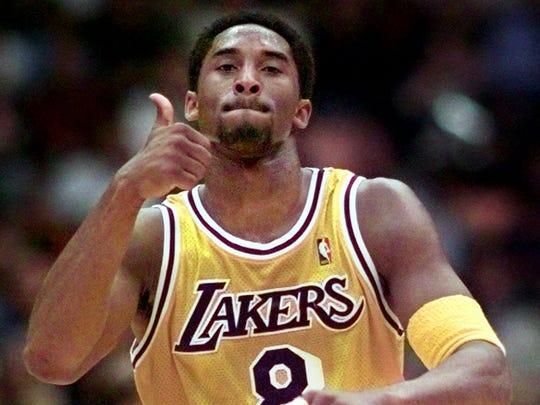 1996: Kobe Bryant to Los Angeles.