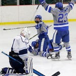 WIAA boys hockey: Notre Dame tops Bay Port in 2OT