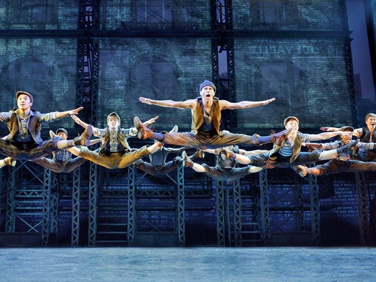 """Newsies,"" a Disney Theatrical Production under the direction of Thomas Schumacher."