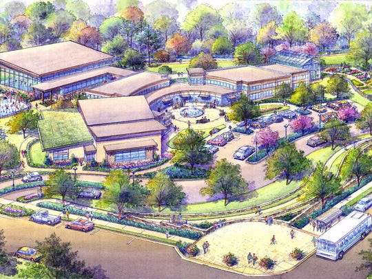 A second phase of the Wesley Grant Sr. Center would