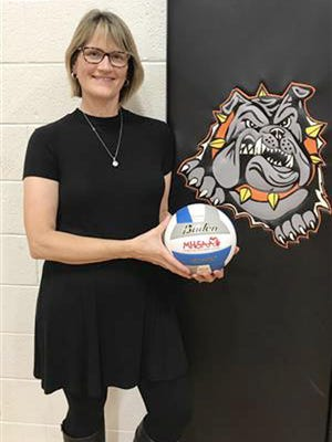 Ellen Perry has announced her retirement as Rudyard volleyball coach after 27 seasons. She led the Bulldogs to 630 wins during her coaching career.