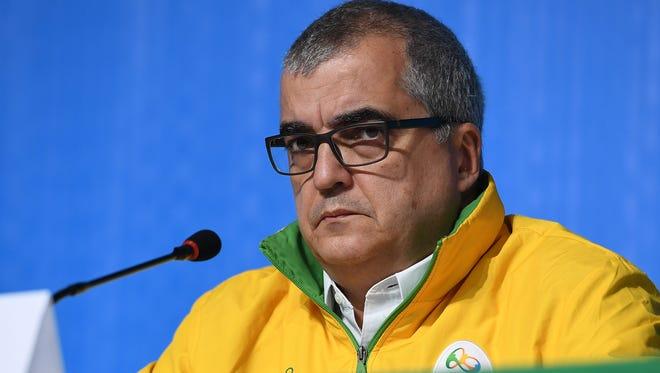 Chief spokesman for the Rio 2016 organizing committee Mario Andrada.